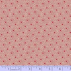 Marcus Fabrics - Aunt Grace First Place - R35 5871 0311.  Designed by Judie Rothermel a 30's reproduction print. Red, navy and cream.