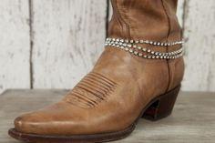 Bling Strand Boot Bracelet - Classy Country