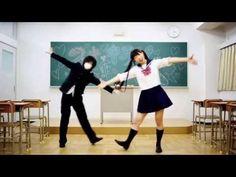 Cute Japanese girl dance with Cosplay Anime #2 - YouTube