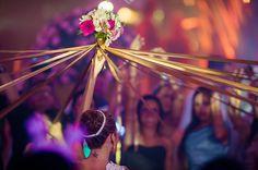 Buque | Buque branco e rosa | Bouquet | Pink Bouquet | White Bouquet | Pink Bridal Bouquet | Inesquecível Casamento | Noiva | Bride | Buquê de Noiva | Buque com Rosas | Buque de Rosas | Buque com tiras | Rose Bouquet | Tiras