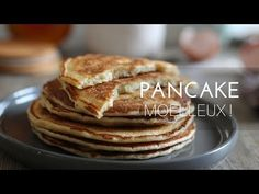 Pancakes au yaourt, rapide et moelleux ! Ramadan Recipes, Biscuits, Food And Drink, Breakfast, Sweet, Pains, Muffins, Pizza, Top