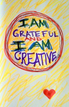 Create gratitude.