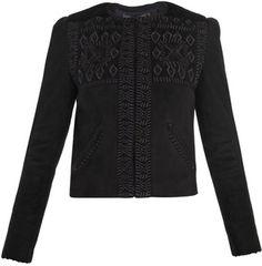 Edge Embroidered Jacket