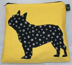 French bulldog pouch