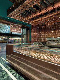 Bakery VyTA Santa Margherita, Florence. Designer: Daniela Colli