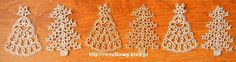 Two cute patterns for Christmas trees.
