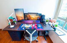 Computer Setup, Pc Setup, Microsoft Surface, Gaming, Desk, Art, Art Background, Videogames, Desktop