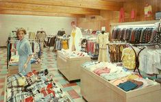 vintage christmas shopping mall - Bing images