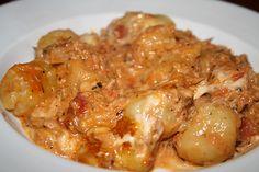 Gnocchi - Thunfisch - Auflauf, ein sehr leckeres Rezept aus der Kategorie Fisch. Bewertungen: 105. Durchschnitt: Ø 4,4.