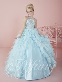 Flower Girl Vestido #13478 Lovely flower girls from tiffany collection #mipresentacion #presentaciondresses #vestidospara3años
