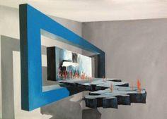 "Saatchi Art Artist Eka Peradze; Painting, ""road. 3D Painting.  50x70cm. Recently Sold"" #art"
