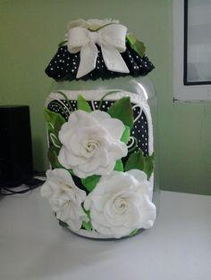 Passo a Passo Pote de Rosas em Biscuit _Ateliê Lucilia Dantas_* Arte em ...