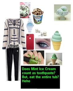 """Mint ice cream 101"" by badassslytherinprincess ❤ liked on Polyvore featuring interior, interiors, interior design, home, home decor, interior decorating, Madewell, Anna Kosturova, Lacoste and A Little Lovely Company"