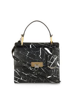 Le Dix Cartable S cross-body bag Leather Crossbody, Leather Bag, Crossbody Bag, Black Crossbody, Calf Leather, Leather Purses, Leather Handbags, Shoulder Handbags, Shoes