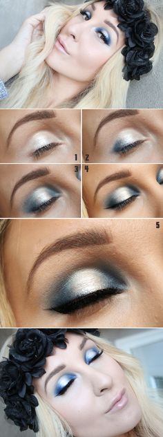 Tutorial – BLUEMOON! | Check this swedish beautyblogger out!