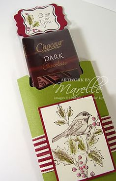 Marelle Taylor Stampin' Up! Demonstrator Sydney Australia: 12 Days of Christmas - Card 11