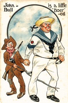 Soldiers of the Queen - John Bull is a little Boer-ed Lion Face Drawing, Armed Conflict, The Settlers, New York Life, A Day In Life, Vintage Cartoon, British Army, Political Cartoons, South Africa