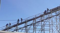 Cyclone breaks down at top of ride, forcing riders to walk down | New York's PIX11 / WPIX-TV