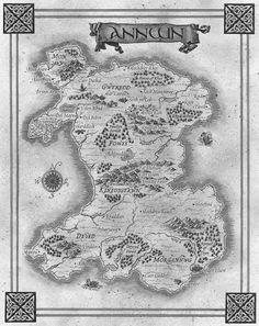 Creating a fantasy map.