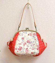 壺型がま口バッグの作り方1