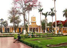 Plaza de Armas Barranco; Lima-Perú