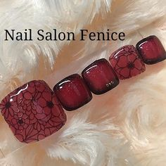 Pedicure Nail Art, Toe Nail Art, Mani Pedi, Nail Swag, Halloween Toes, French Nail Designs, Feet Nails, Gorgeous Nails, French Nails