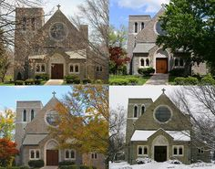 Bethany School four seasons of the chapel