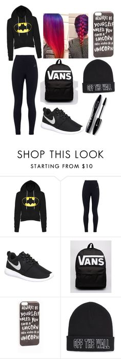 """Untitled #199"" by clarabalmaseda ❤ liked on Polyvore featuring NIKE, Vans, JFR, Lancôme, women's clothing, women, female, woman, misses and juniors"