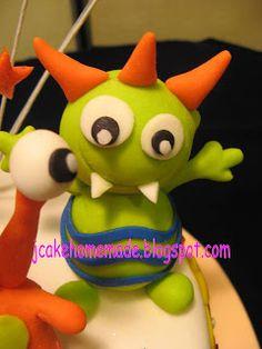 Monster Cake Detail