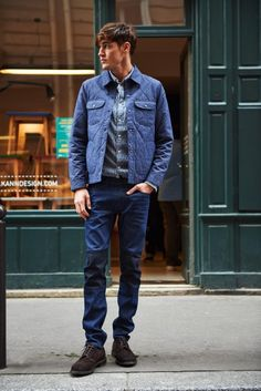 Lee Jeans Showcases Casual Denim Mens Styles for Fall