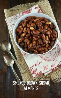 Smoked Brown Sugar Almonds