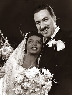 Adam Clayton Powell Jr. & Hazel Scott. Married in 1945. Hazel was Adam's 2nd wife. Powell Jr. was a Harlem reverend & a powerful politician who was in the House of Representatives from 1945-71. Hazel was a starlet in her own right.She was an internationally known pianist, singer & bandleader. They had a son together & were married for 15 yrs (separating after 11),divorcing in 1960.