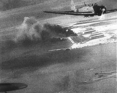 Japanese planes over Hawaii during the attack on Pearl Harbor are shown in this scene from a Japanese newsreel. The film was obtained by the U.S. War Department and later released to U.S. newsreels. (AP Photo)