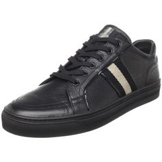 BALLY Men's Prestig Sneaker,Black,7.5 D, , #Apparel, #Fashion Sneakers