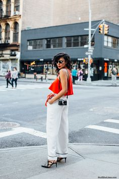 Stuff She Likes: How to Wear A Pop of Red..