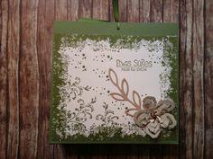 """Schokoladenaufzug für Milka """"Hauchzarte Herzen"""" mit Timless Textures und Botanischer Garten, sowie Rosenzauber und Kreativ & selbst gemacht in Waldmoos, Svanne, Sahara und Vanille pur"""