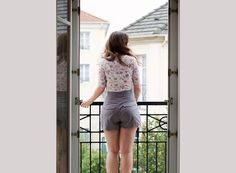 Schnittmuster Shorts Chataigne von Deer and Doe, Cover