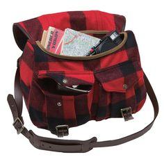 Cabin Field Bag in Red