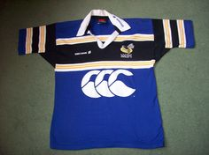 Wasps Rugby shirt from 2000 made by Canterbury