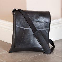 Traidcraft - Recycled Tyre Messenger Bag - Fair Trade £32.95