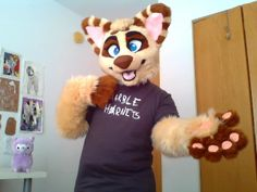 Fuckin' Awesome Fursuit because THEY ARE WEARING A MARBLE HORNETS TSHIRT AND THAT IS CREEPYPASTA AND I LOVE CREEPYPASTA