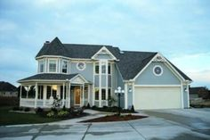 Victorian Style House Plan - 4 Beds 2.5 Baths 2316 Sq/Ft Plan #20-821 Exterior - Front Elevation - Houseplans.com