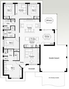 17 And 18 Metre Wide Home Designs