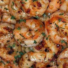 Ruth's Chris New Orleans-Style BBQ Shrimp - It was quick and super easy to recreate. If you are sick of eating the same proteins, give this a try. Your tastebuds will thank you .. :)