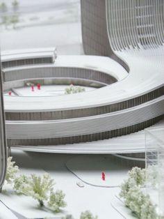 Fangda Business Headquarters Winning Proposal by Huasen Architects (HSA) - Shenzhen, China