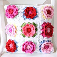 Lisa says: Oh!!! how gorgeous...starting this today! It's just one of 'those' projects that simply can't wait. ;-) Rosie Pillow Cover - Cottage Industry Shop