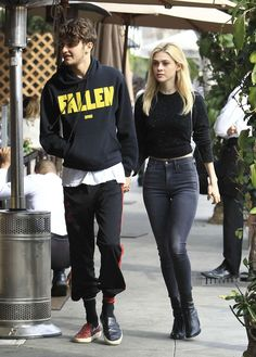 Nicola Peltz and Anwar Hadid