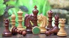 "The Hurricane Series Staunton Luxury Chess Set Bud Rose & Box Wood With Storage Box - 4.7"" King.  Head To >> http://www.chessbazaar.com/the-hurricane-series-staunton-luxury-chess-set-bud-rose-box-wood-with-storage-box-4-7-king.html"