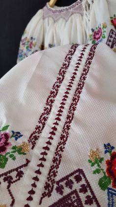 Cross Stitch Rose, Veronica, Cross Stitch Patterns, Cami, Blanket, Dresses, Dots, Cross Stitch, Embroidery