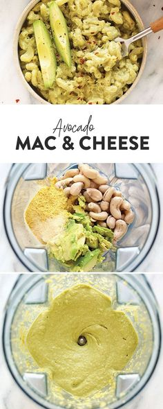 With just 8 ingredients and 30 minutes, you can have yourself a delicious vegan dinner ready for the family. Try our avocado mac and cheese recipe for a healthy twist on classic mac. dinner pasta mac cheese Vegan Avocado Mac and Cheese - Fit Foodie Finds Vegan Dinners, Healthy Dinner Recipes, Whole Food Recipes, Healthy Snacks, Vegetarian Recipes, Healthy Eating, Cooking Recipes, Vegan Avocado Recipes, Beef Recipes